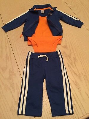 a409b933d Carters Baby Boy 3 Piece Jogging Set Size 6 Months New W/o Tags Free