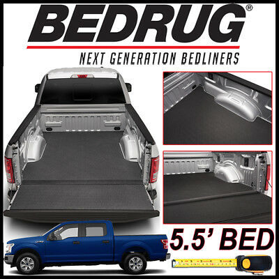 BEDRUG BedTred IMPACT Liner Truck Bed Mat 2015-2019 Ford F-150 WITH 5.5' BED