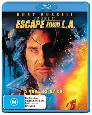 Escape From L.A. - Blu-ray Region B [New & Sealed] (Kurt Russell)