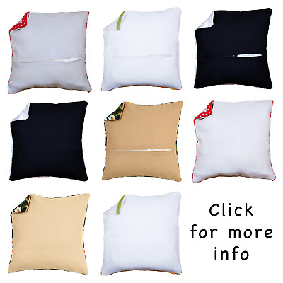 Vervaco ~ Cushion Back / Backing ~ With or Without Zipper ~ 45cm x 45cm