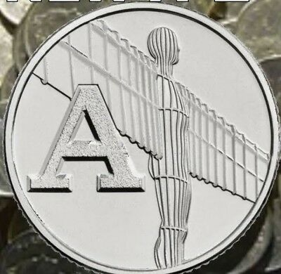 NEW A-Z 2018 ALPHABET 10p Great British  COIN HUNT LETTER A Angel of the North