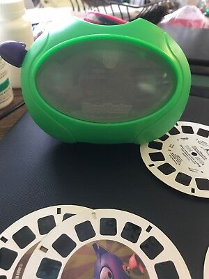 View Master Viewmaster 3D Viewer by Mattel 1999 Green With Reels