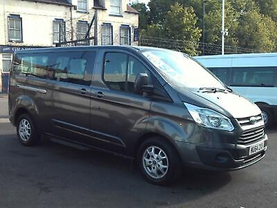 Ford Transit Tourneo Limited 9 Seat Lwb Minibus Air Conditioning Alloys 2014
