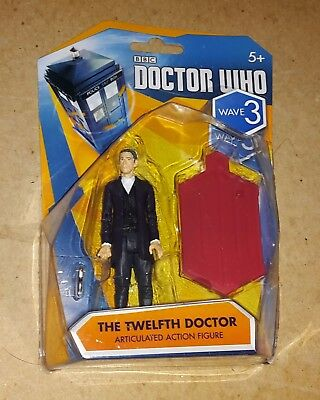 "Doctor Who TWELFTH (12th) DOCTOR (white shirt)- WAVE 3 Action Figure 3.75"" (New)"