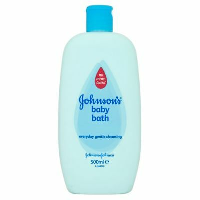 ** 2 X JOHNSONS BABY BATH 500ml NEW ** NO TEARS MILD  GENTLE CLEANSING
