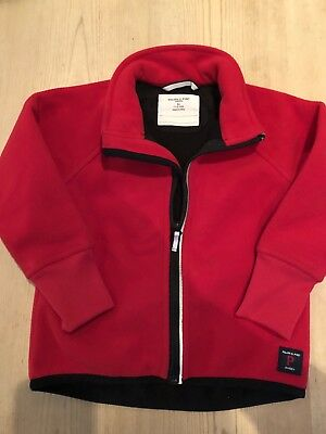 Polarn O Pyret Red Fleece Jacket Age 1.5-2 Years