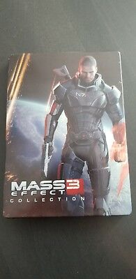Mass effect 3 collection limited  edition steelbook  RARE -NO GAME/DISC