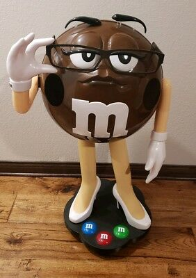 Rare Brown M&M Character Store Display- Over 3ft Tall