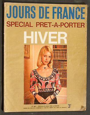 'jours De France' French Vintage Magazine Winter 1974 Fashion Issue