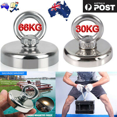 Recovery Magnet Hook Strong Sea Fishing Diving Treasure Hunting Flying Ring OZ