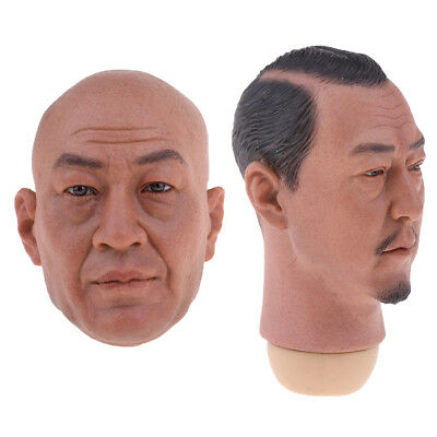1/6 Model Soldier Head Scuplt for 12inch Male Phicen Kumik and Magic Props