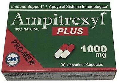 Pro-Mex Ampitrexyl Plus | Dietary Supplement | 1000 mg Capsules | 30 Count