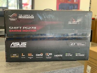 "ASUS ROG Swift PG278QR 27"" WQHD 165Hz G-SYNC Eye Care LED Gaming Monitor"