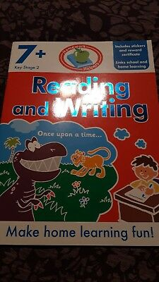 Reading And Writing Learning Acivity Book Age 7+