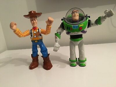 2x SPARES AND REPAIRS Kids woody buzz toy story Figures Toy Game Bundle Lot