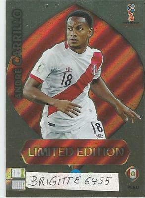 Panini Adrenalyn XL World Cup Russia 2018 Limited  Edition André Carrillo