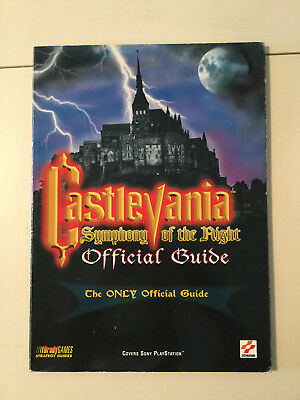Castlevania Synphony of the Night Guide Preowned