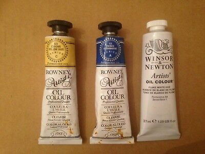 Winsor & Newton and Rowney Artists' Oil Paints