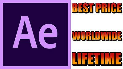ADOBE AFTER EFFECTS 2019✔Windows✔Lifetime✔Instant Delivery