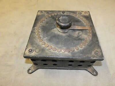 Antique Westinghouse Electric Mfg. Field Rheostat Type J Cast Iron Metal Brass
