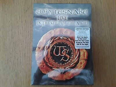 Whitesnake Live In The Still Of The Night limited edition  dvd