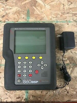 Trilithic 860 DSP Cable Tester DOCSIS 2.0