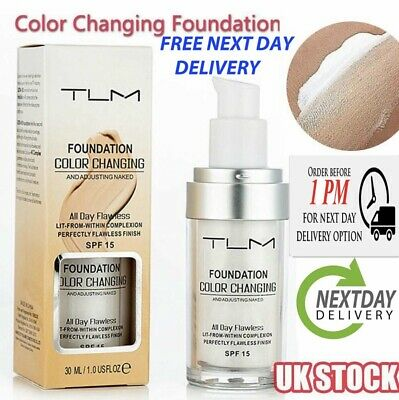 Magic Flawless Colour Color Changing Foundation TLM Makeup Change Skin Tone