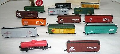 Vintage Mixed Lot Atlas Freight Train Cars Set Of 14