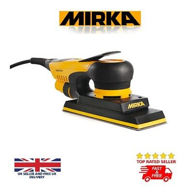 Mirka DEOS 383CV 220-240V Electric Orbital Sander 3.0mm Orbit 70 x 198mm QUALITY