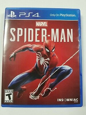 Spider-Man (Sony PlayStation 4, 2018)