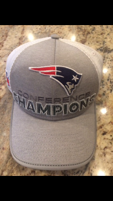 New~England~Patriots~Conference Champions~Super~Bowl~LII ~NEW~ERA 9FORTY~Cap~Hat