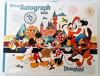 Walt Disney World Four Parks Mickey Mouse Official Autograph Book New/Sealed