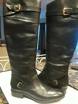 c9887f5940d SAM EDELMAN PORTMAN Knee High Leather Riding Boots