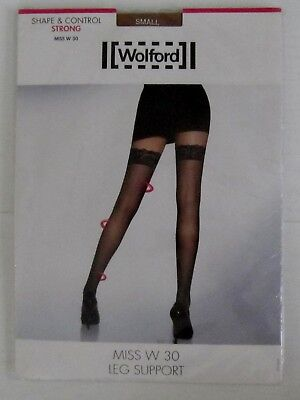 b458a1d7c84 WOLFORD MISS W Absolute 30 Leg Support Tights Black XSmall -  39.83 ...