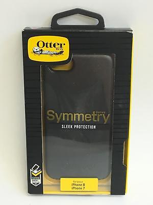 OtterBox Symmetry Series Sleek Protection Case for iPhone 7 Black Model 77-55251