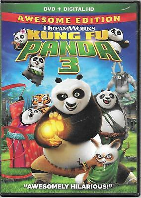 Kung Fu Panda 3 : Awsome Edition - DVD + Digital HD + Special Features, new