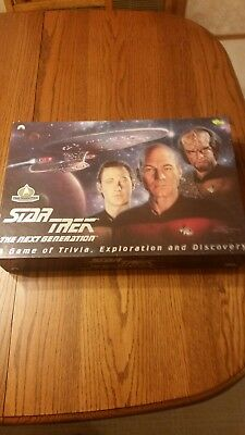 Star Trek The Next Generation: A Game of Trivia, Exploration and Discovery