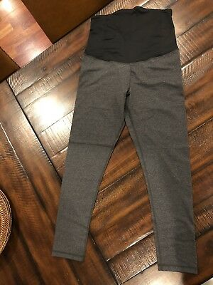 Isabel For Target Maternity Full Panel Gray Leggings Size Medium