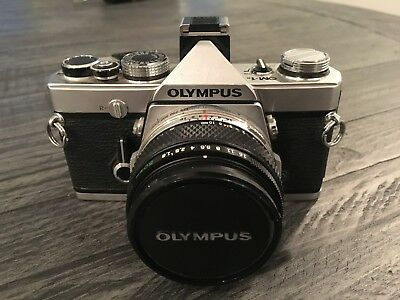 Olympus OM-1 35mm SLR Camera SUPER KIT, five (5) lenses, great condition