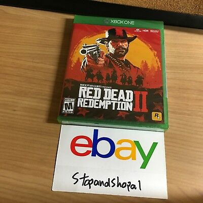 XBOX ONE Red Dead Redemption 2 BRAND NEW