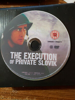 The Execution of Private Slovik  1974 DVD Region 1