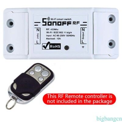 New Home Sonoff Smart Home WiFi Wireless Switch Module For IOS Android APP Ctrl