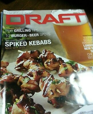 VGC Draft magazine lot 6 total issues July/Aug 2015 thru May/June 2016
