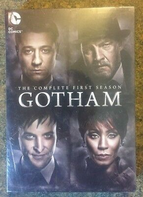 ** Gotham: The Complete 1st Season, DVD, 6-Disc Set, brand new, factory sealed!