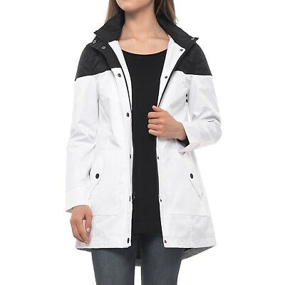 72f46621d7f4 UGG AUSTRALIA TRENCH Rain Jacket Women s Black 1019954 XL Hooded ...