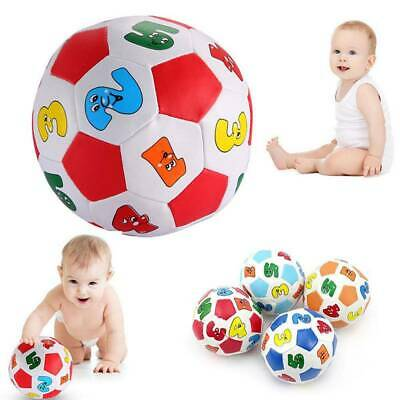 Developmental Soft Baby Number Learning Color Cognition Rubber Toy Infant Ball