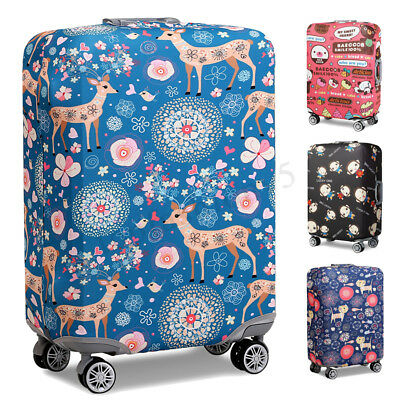 Sika Deer Elastic Luggage Cover Travel Suitcase Protector Dustproof Bag