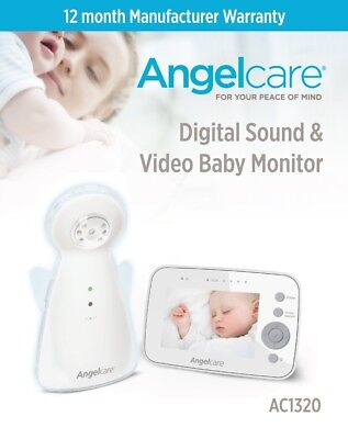 Angelcare Refurbished Video & Sound Monitor Ac1320