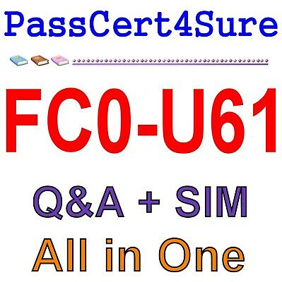 CompTIA IT Fundamentals+ Certification FC0-U61 Exam Q&A+SIM
