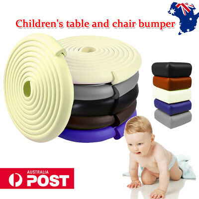 2x2M Kids Baby Safety Foam Rubber Bumper Strip Safety Table Edge Corner Protect